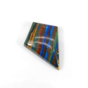 Rainbow Calsilica 24x17mm Fancy Cabochon 8.50 Cts