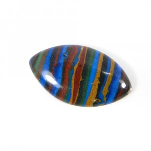 Rainbow Calsilica 26x14mm Marquise Cabochon 10.55 Cts