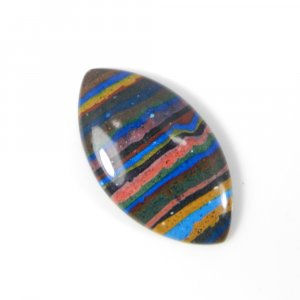 Rainbow Calsilica 30x17mm Marquise Cabochon 13.95 Cts