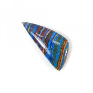Rainbow Calsilica 33x15mm Fancy Cabochon 13.45 Cts