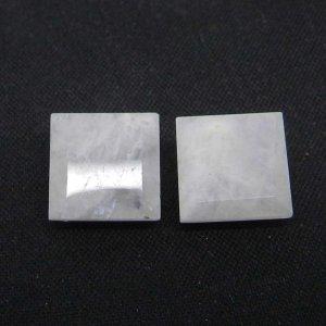 Rainbow Moonstone 10x10mm Square Cut 4.0 Cts