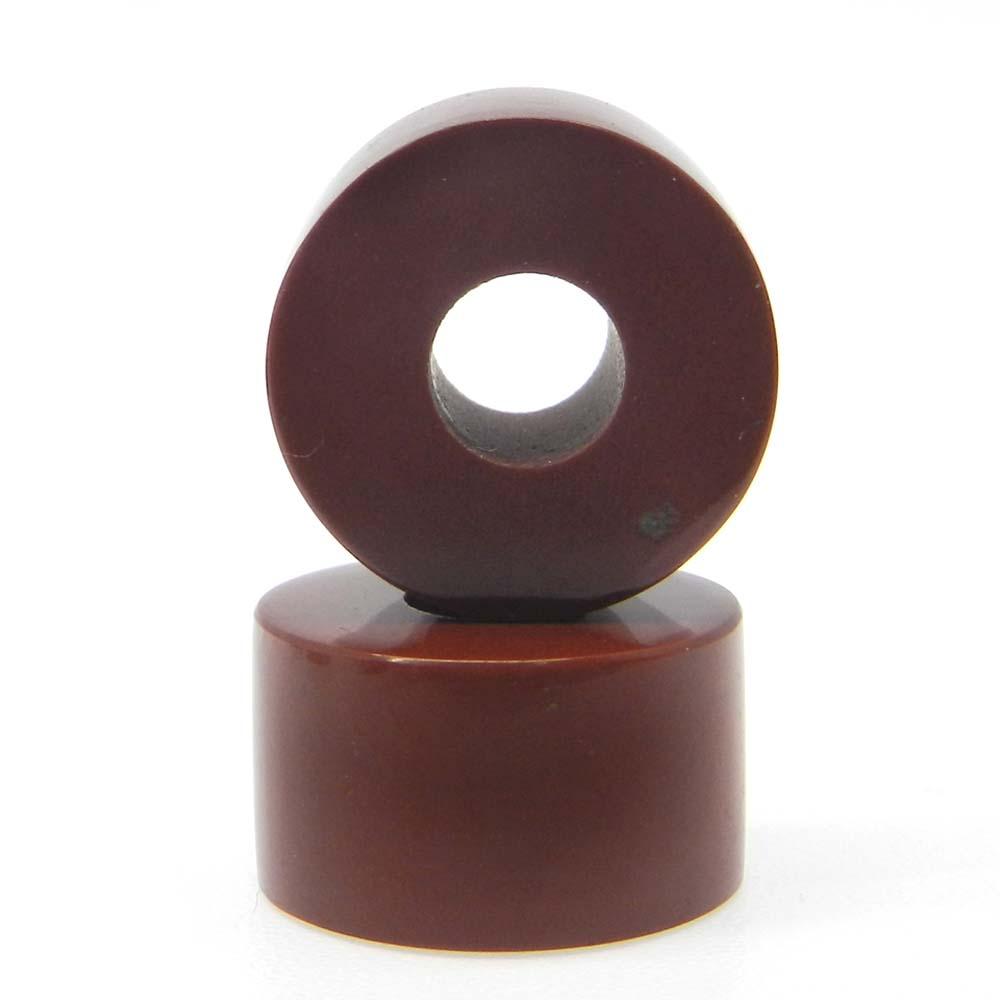 Red Jasper 14x8x5mm Round Flat Beads