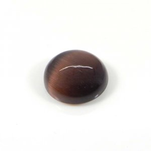Red Tiger Eye 14mm Round Cabochon 9.95 Cts