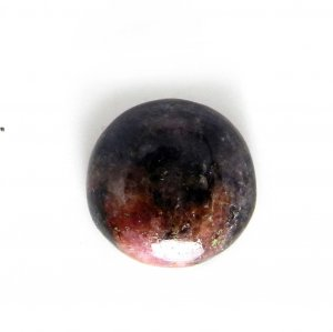 Rhodonite 13x13mm Round Cabochon 10.55 Cts