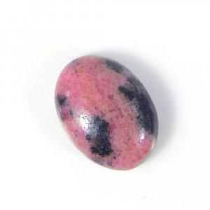 Rhodonite 18x13mm Oval Cabochon 15.30 Cts