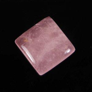 Rose Quartz 22x22mm Cushion Cabochon 36.20 Cts