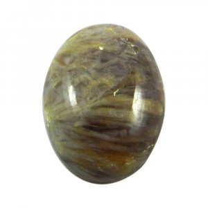 Sagenite Agate 20x15mm Oval Cabochon 15.5 Cts