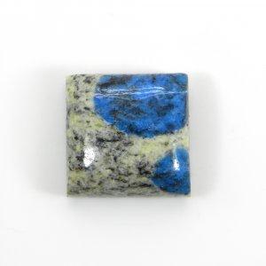 Semi Precious Gemstone K2 Jasper 15x15mm Square Cabochon 15.7 Cts