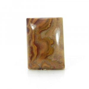 Semi Precious Gemstone Red Creek Jasper 17x13mm Rectangle Cabochon 11.00 Cts