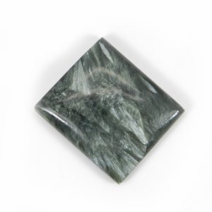 Seraphinite 27x23mm Rectangle Cabochon 37.45 Cts