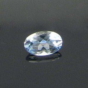 Sky Blue Topaz 5x3mm Oval Cut 0.3 Cts
