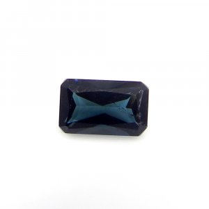 Small Gemstone Collection Blue Tourmaline 8x5mm Octagon Baguette 1.00 Cts