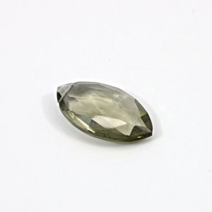 Smoky Hydro 11.35 Cts Marquise Briolette Cut 23x14mm 0.92mm Drilled Loose Gemstone