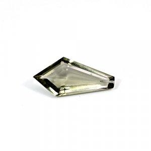 Smoky Hydro 14.60 Cts Fancy Cut 30x14mm Drilled Loose Gemstone