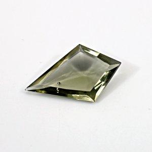 Smoky Hydro 20.45 Cts Fancy Cut 33x20mm Loose Gemstone