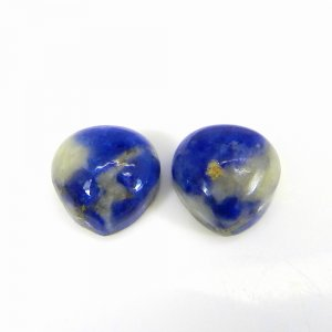 Sodalite 10x10mm Heart Cabochon 3.50 Cts