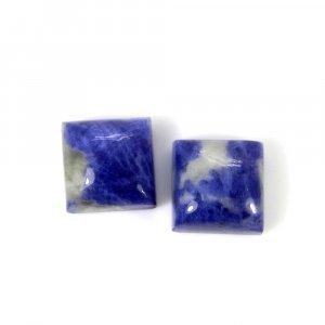Sodalite 10x10mm Square Cabochon 5.15 Cts