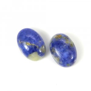 Sodalite 14x10mm Oval Cabochon 6.75 Cts