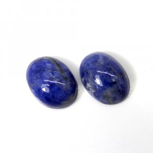 Sodalite 16x12mm Oval Cabochon 8.20 Cts