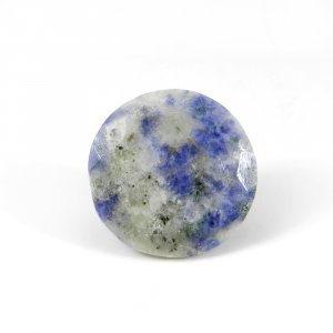 Sodalite 18mm Round Faceted Cut 17.85 Cts
