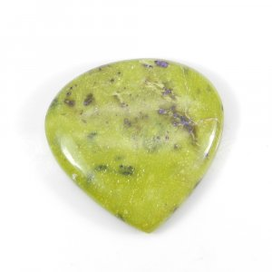 Stichtite 27x27mm Heart Cabochon 28.80 Cts