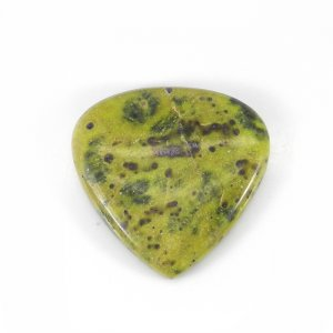 Stichtite 31x30mm Heart Cabochon 39.60 Cts