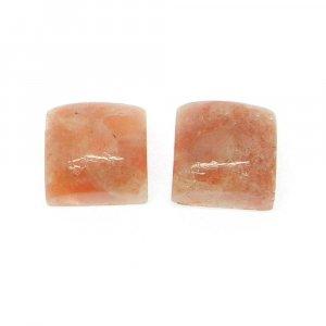 Sunstone 10x10mm Square Cabochon 6.70 Cts