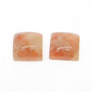 Sunstone 11x11mm Square Cabochon 8.0 Cts