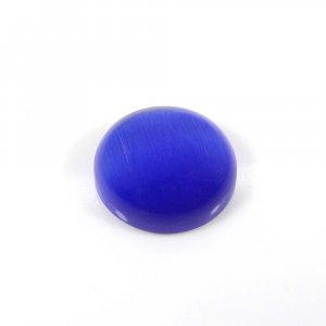Synthetic Cats Eye 14mm Round Cabochon 9.20 Cts