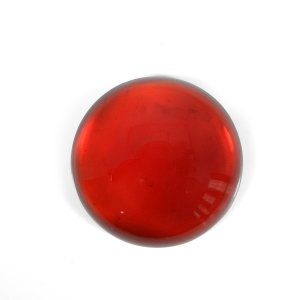 Synthetic Glass Fill Gemstone 40mm Round Cabochon 167.00 Cts