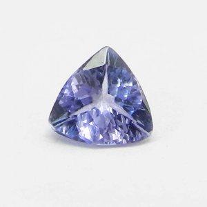 Tanzanite 6x6mm Trillion Cut 0.60 Cts