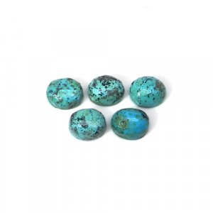 Tibet Turquoise 14x9mm Pear Cabochon 3.20 Cts