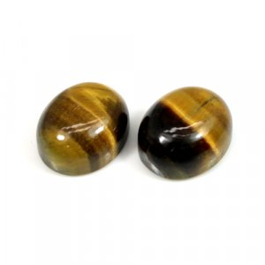Tiger Eye 12x10mm Oval Cabochon 6.05 Cts
