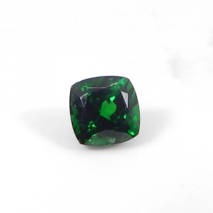 Tsavorite 5x5mm Square Faceted Cut 0.70 Cts