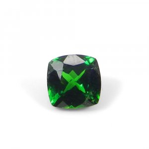 Tsavorite 6.5x6.5mm Square Faceted Cut 1.30 Cts