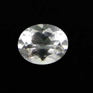 White Topaz 10x8mm Oval Cut 2.90 Cts