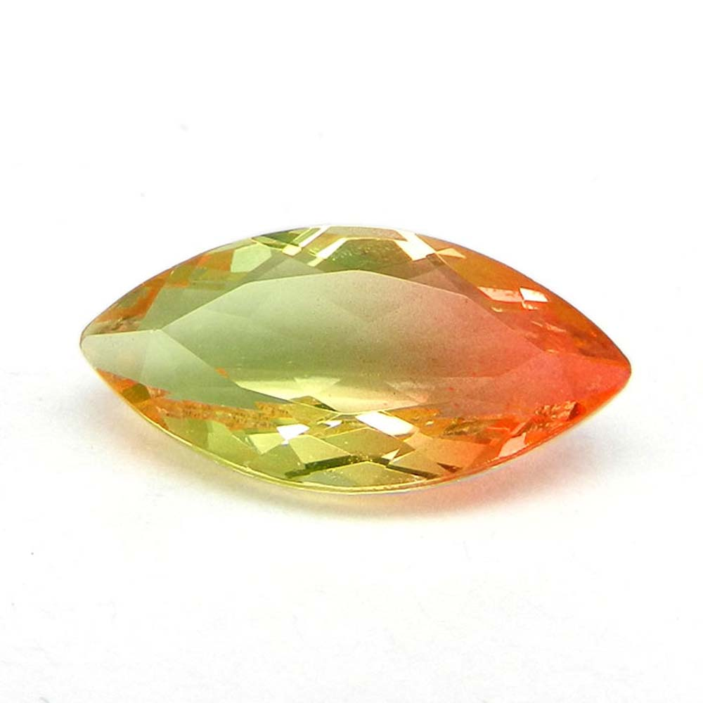 Yellow Bio Color Doublet 10x20mm Marquise Cut 7.8 Cts