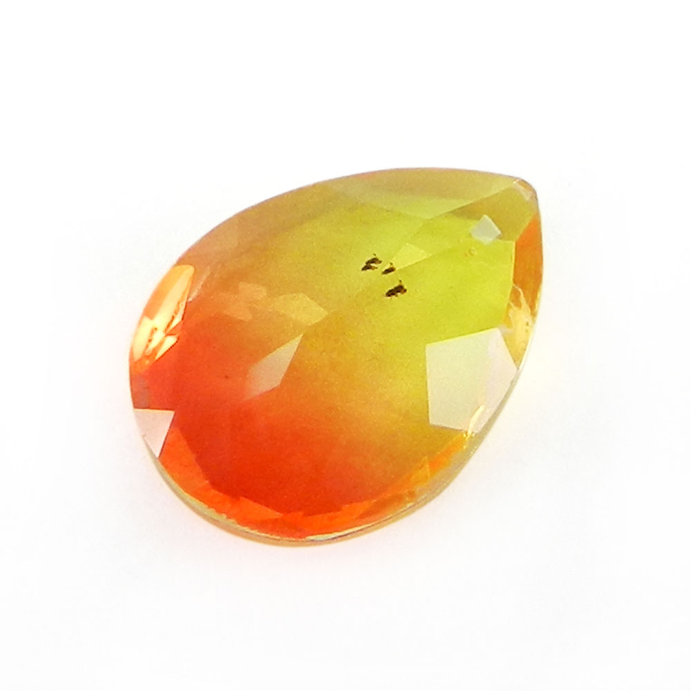 Yellow Bio Color Doublet 14x10mm Pear Cut 5 Cts