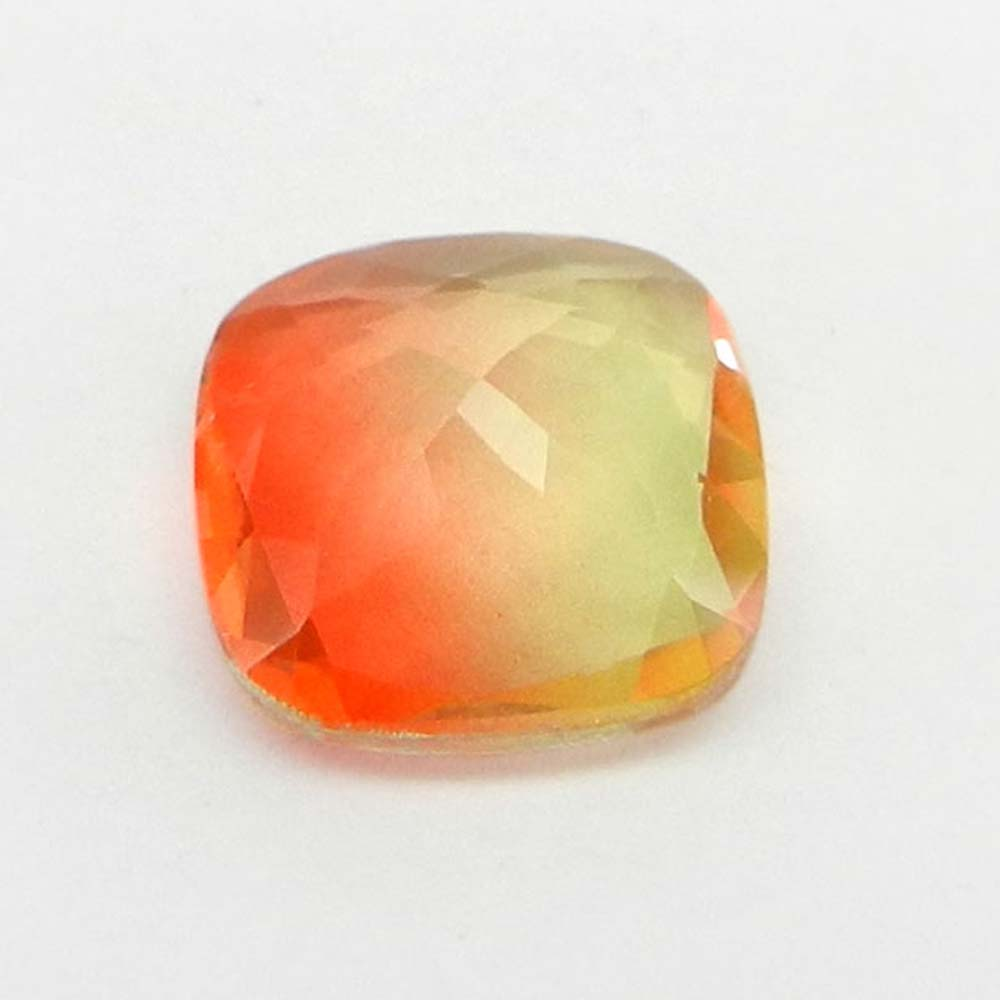 Yellow Bio Color Doublet 14x14mm Cushion Cut 9.8 Cts