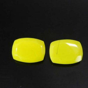 Yellow Chalcedony 16x12mm Octagon Faceted Cut 6.60 Cts