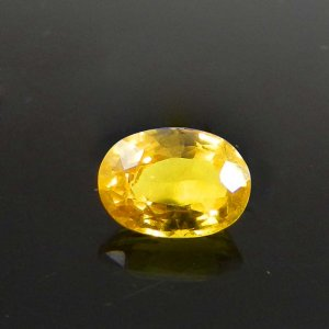 Yellow Sapphire 8x6mm Oval Faceted Cut 2.00 Cts