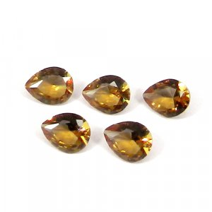 Zultanite 10x7mm Pear Faceted Cut 2.35 Cts