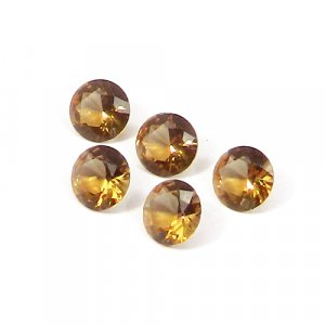 Zultanite 8x8mm Round Faceted Cut 1.70 Cts