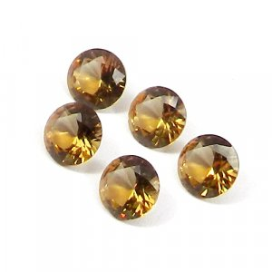 Zultanite 8x8mm Round Faceted Cut 1.75 Cts