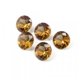 Zultanite 9x9mm Round Faceted Cut 2.60 Cts