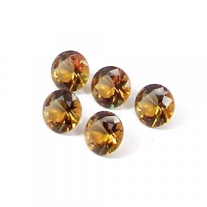 Zultanite 9x9mm Round Faceted Cut 2.65 Cts
