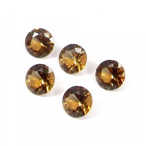 Zultanite 9x9mm Round Faceted Cut 2.75 Cts