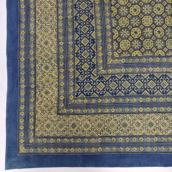 Aarthi Ajrak Double Bedsheets