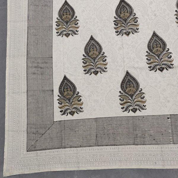 Double Bedsheet Handblock BHD126