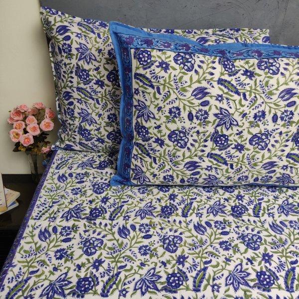 Double Bedsheet Handblock BHD188